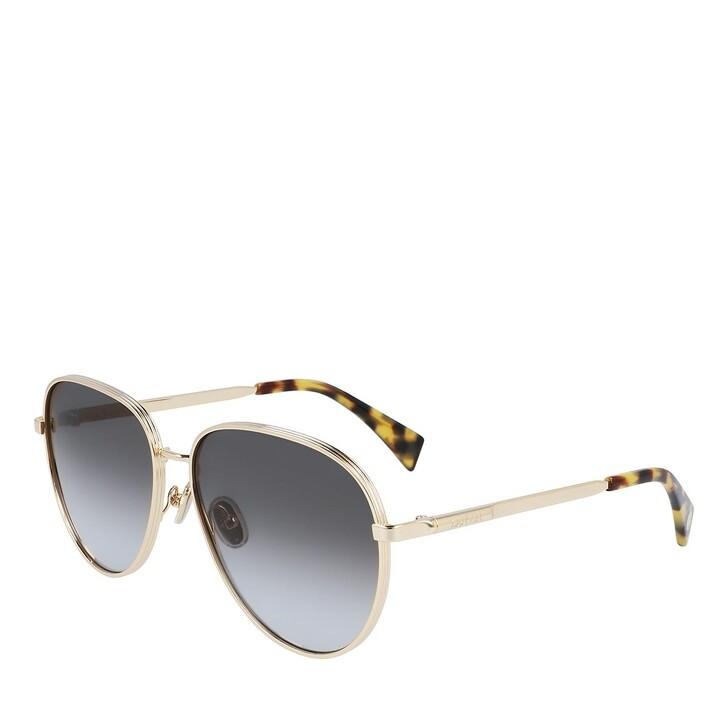 sunglasses, Lanvin, LNV107S GOLD/GRADIENT GREY