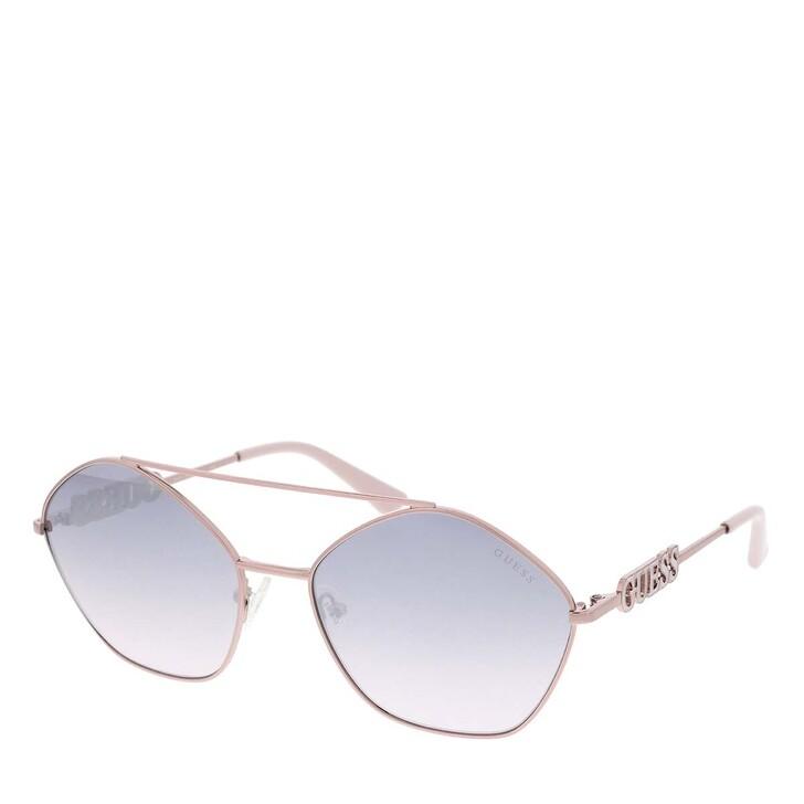 Sonnenbrille, Guess, Women Sunglasses Metal GU7644 Violet
