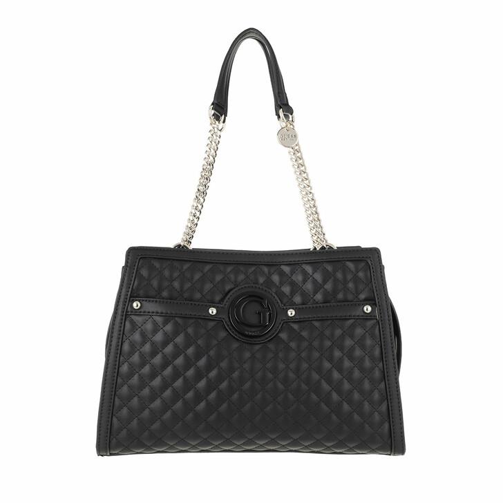 bags, Guess, Heyden Girlfriend Shoulder Satchel Black