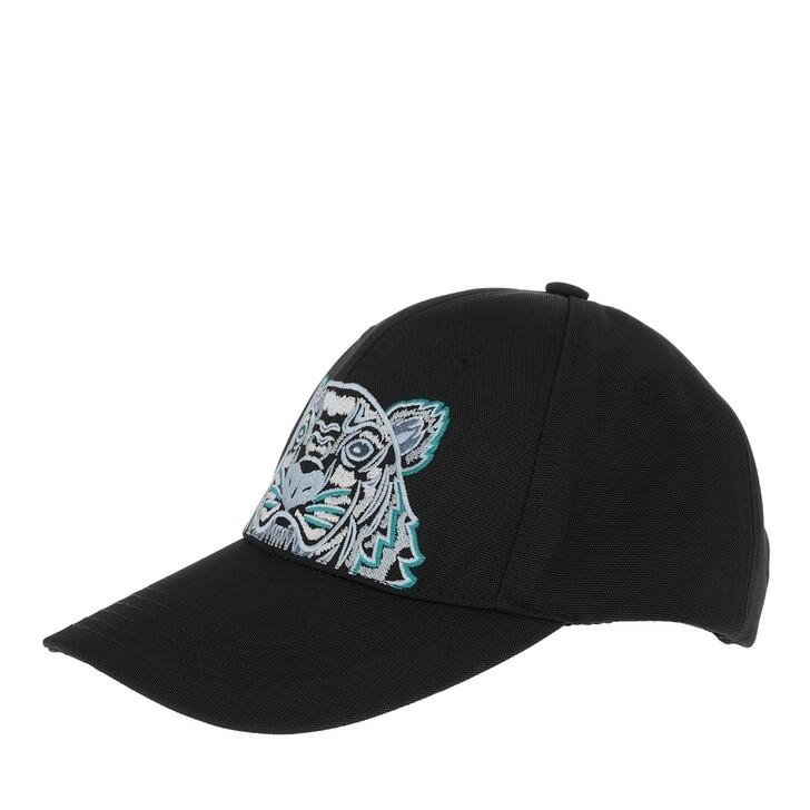 hats, Kenzo, Cap Black