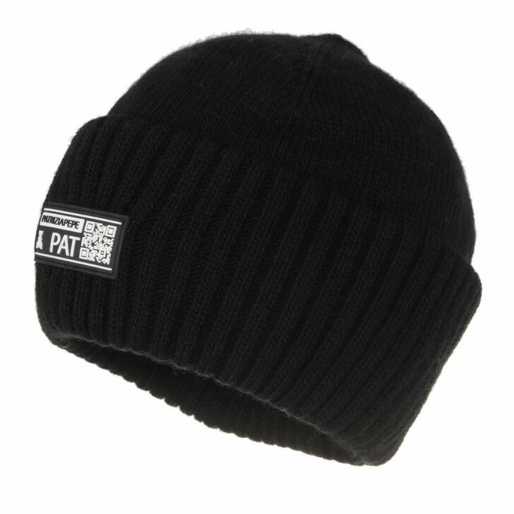 hats, Patrizia Pepe, Cappello Black Black Rubber