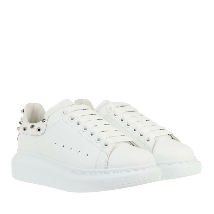 Schuh, Alexander McQueen, Oversized Sneaker Studs White