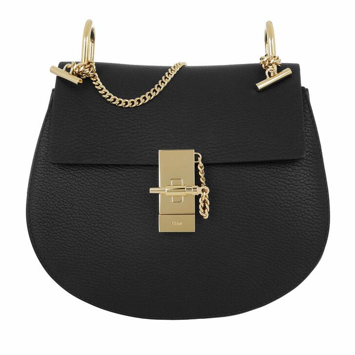 Handtasche, Chloé, Drew Porte Epaule Black