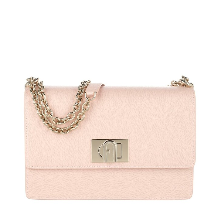 bags, Furla, 1927 Small Crossbody Bag Candy Rose