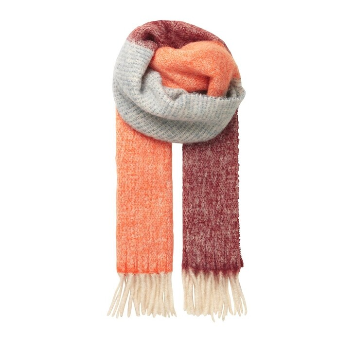 Schal, Becksöndergaard, Ingrid Scarf Dusty Orange