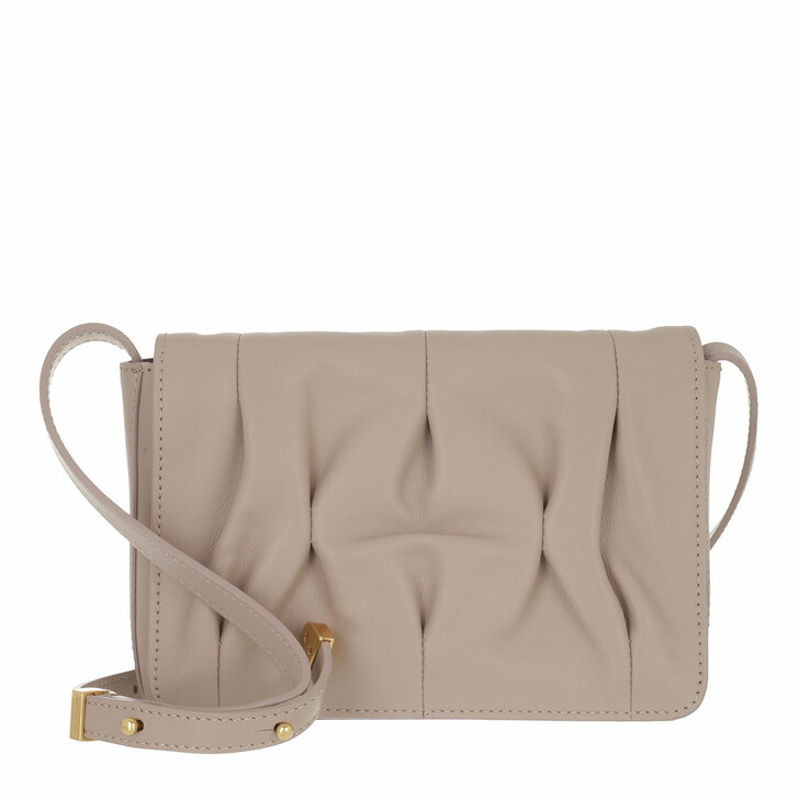 bags, Coccinelle, Handbag Smooth Calf Leather Soft  Powder Pink