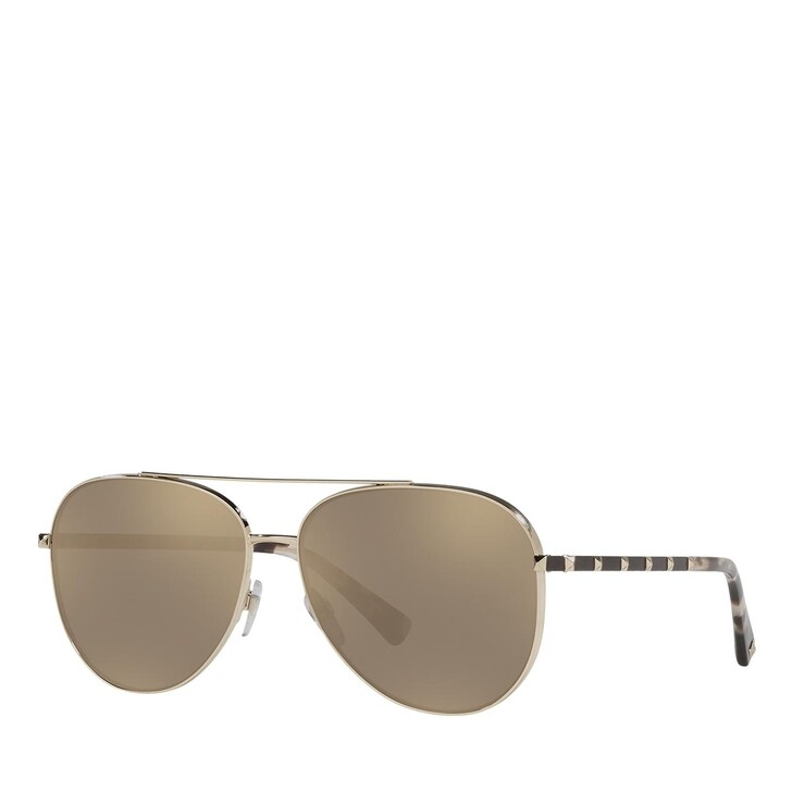 Sonnenbrille, Valentino, 0VA2047 PALE GOLD