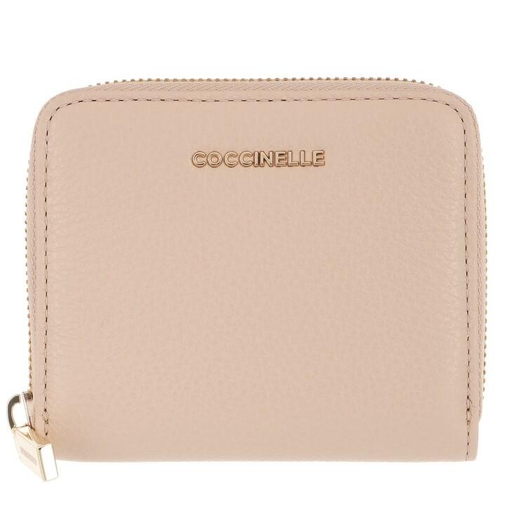 Geldbörse, Coccinelle, Wallet Grainy Leather Powder Pink