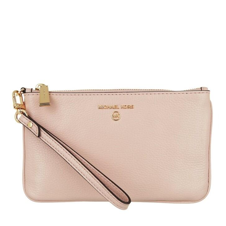 Handtasche, MICHAEL Michael Kors, Jet Set Charm Medium Tz Wristlet Soft Pink
