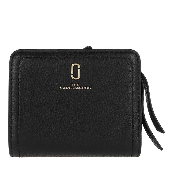 Geldbörse, Marc Jacobs, The Softshot Mini Compact Wallet Black