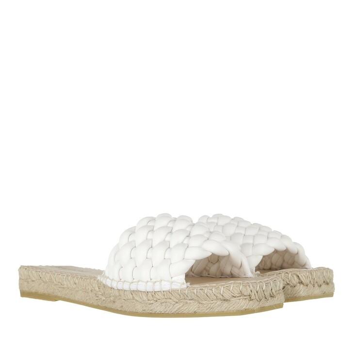 Schuh, Espadrij l'originale, Slip on Sandale  Blanc
