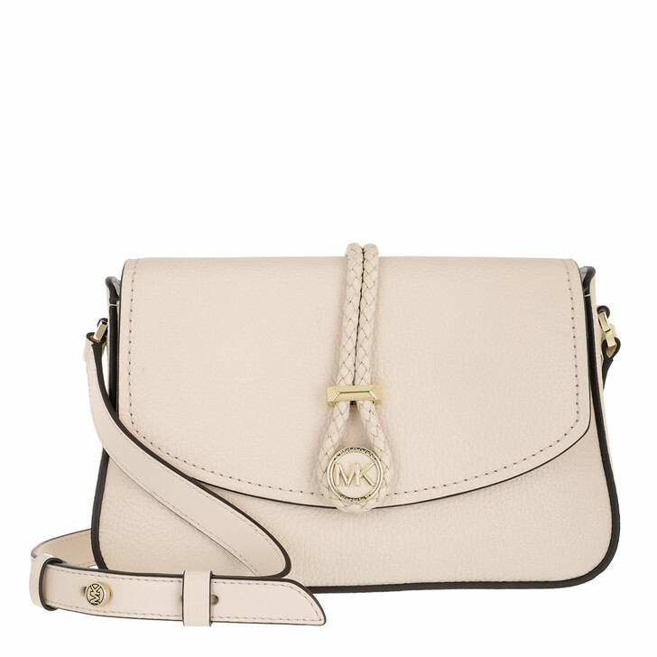 Handtasche, MICHAEL Michael Kors, Lea Crossbody Bag Light Cream