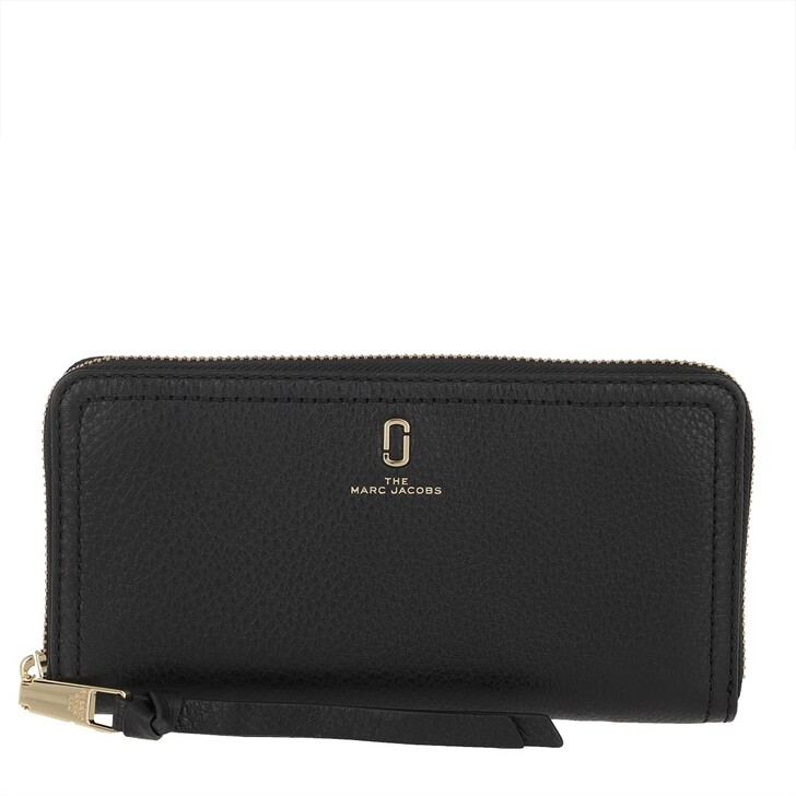 Geldbörse, Marc Jacobs, Continental Wallet Black