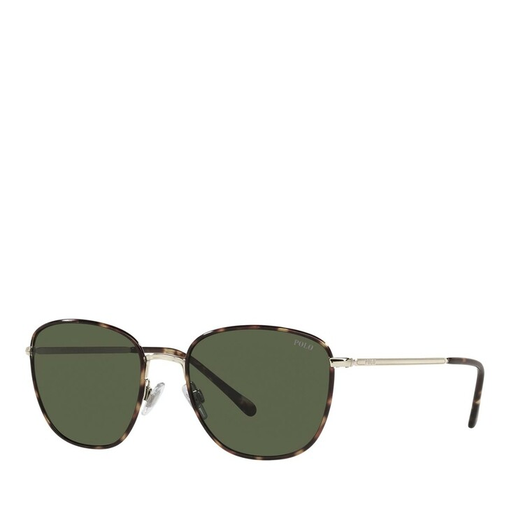 Sonnenbrille, Polo Ralph Lauren, 0PH3134 Shiny Pale Gold
