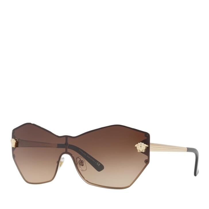 sunglasses, Versace, METALL WOMEN SONNE PALE GOLD