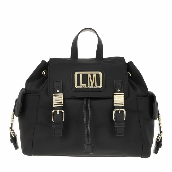bags, Love Moschino, Borsa Nylon  Nero