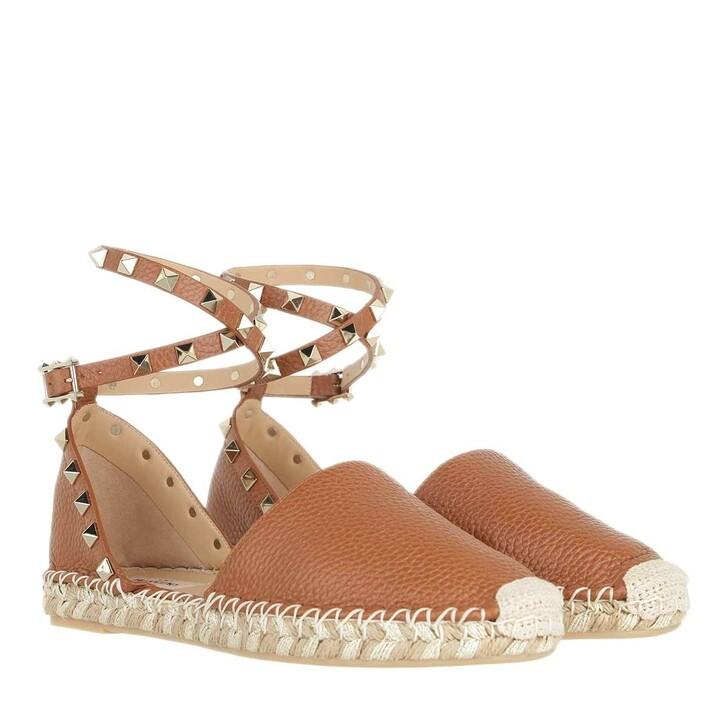 shoes, Valentino Garavani, Espandrilles Brown
