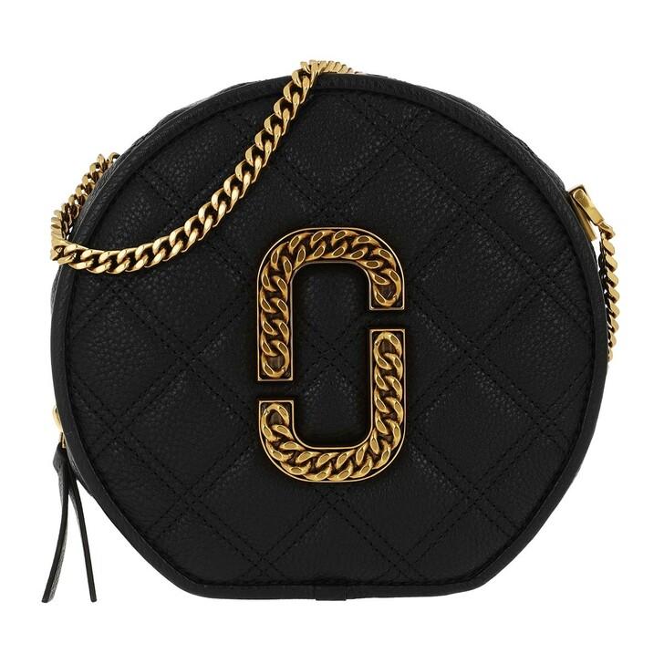 Handtasche, Marc Jacobs, The Status Round Crossbody Black