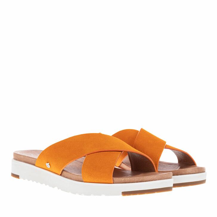 Schuh, UGG, Kari Sandal Suede California Poppy