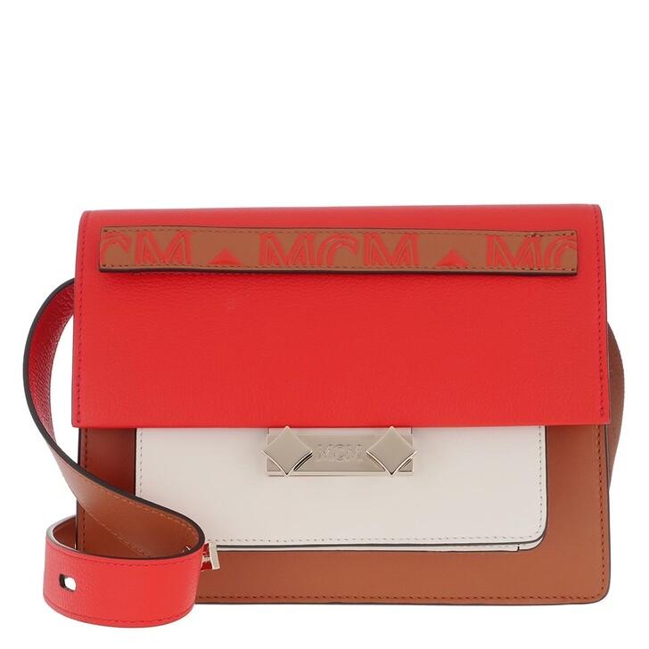 Handtasche, MCM, Shoulder Bag One Size Tangerine Tango