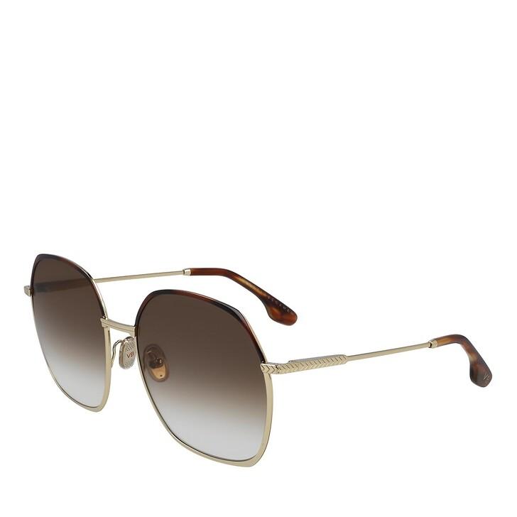 Sonnenbrille, Victoria Beckham, VB206S GOLD/BROWN