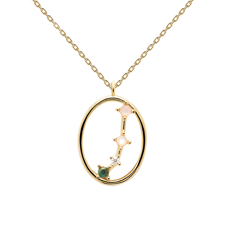 Kette, PDPAOLA, Necklace ARIES Yellow Gold