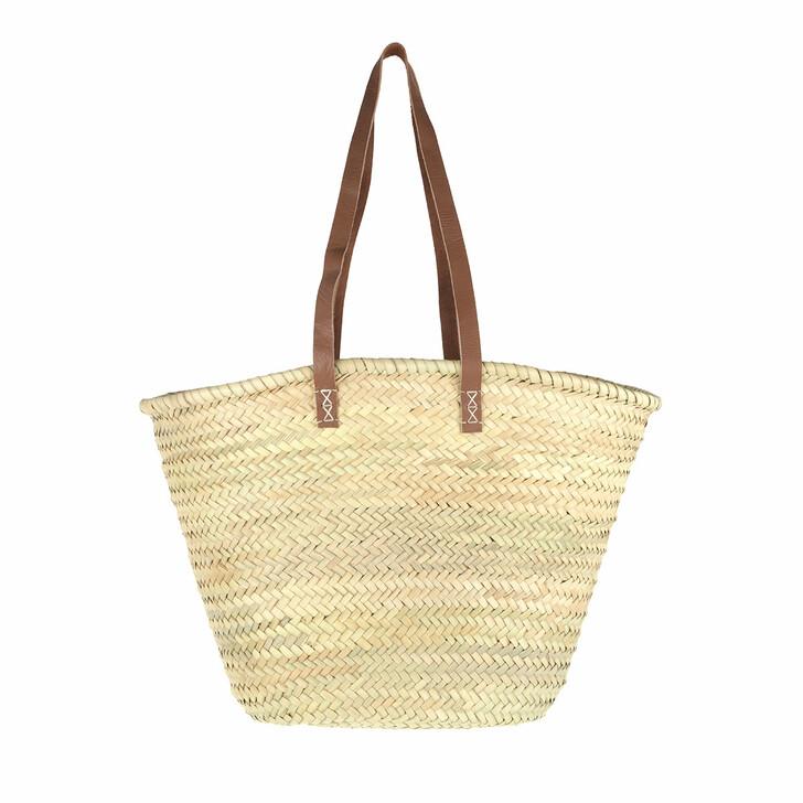 Handtasche, Espadrij l'originale, SET PALMBASKET & BEACHPLAID x fashionette  nature