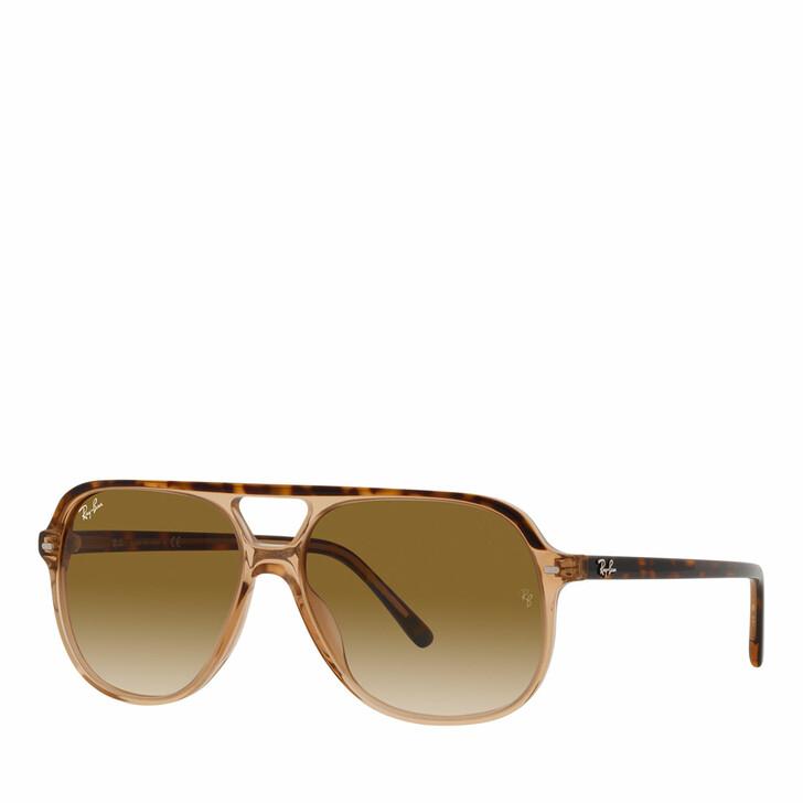 sunglasses, Ray-Ban, Unisex Sunglasses 0RB2198 Havana On Trasparent Brown