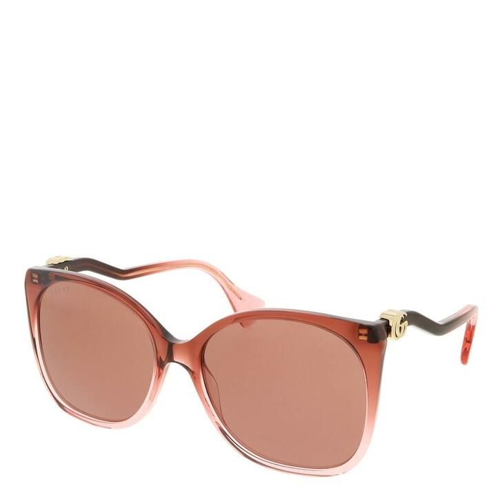 sunglasses, Gucci, GG1010S-004 60 Sunglass Woman Acetate Burgundy-Burgundy-Red