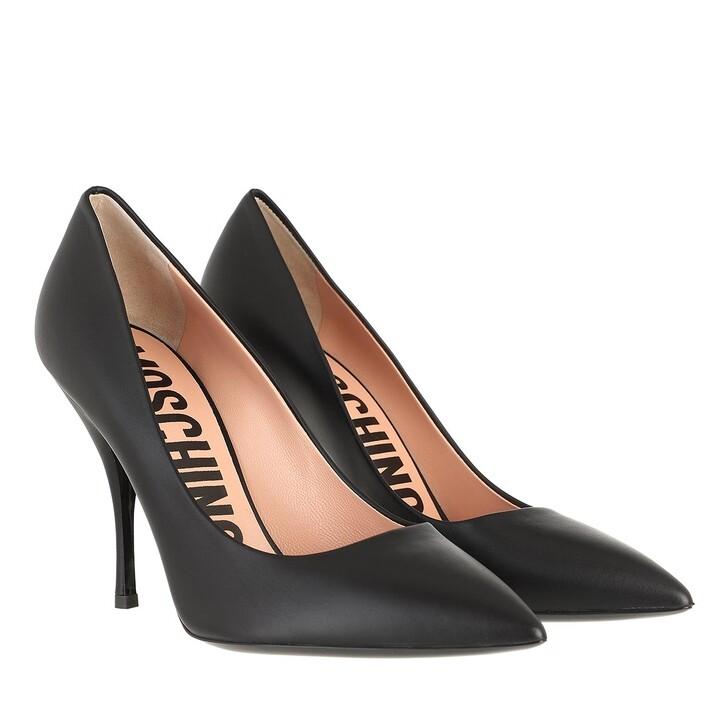 Schuh, Moschino, Shoe Vitello Nero