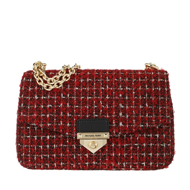 Handtasche, MICHAEL Michael Kors, Soho Large Chain Crossbody Bag Bright Red