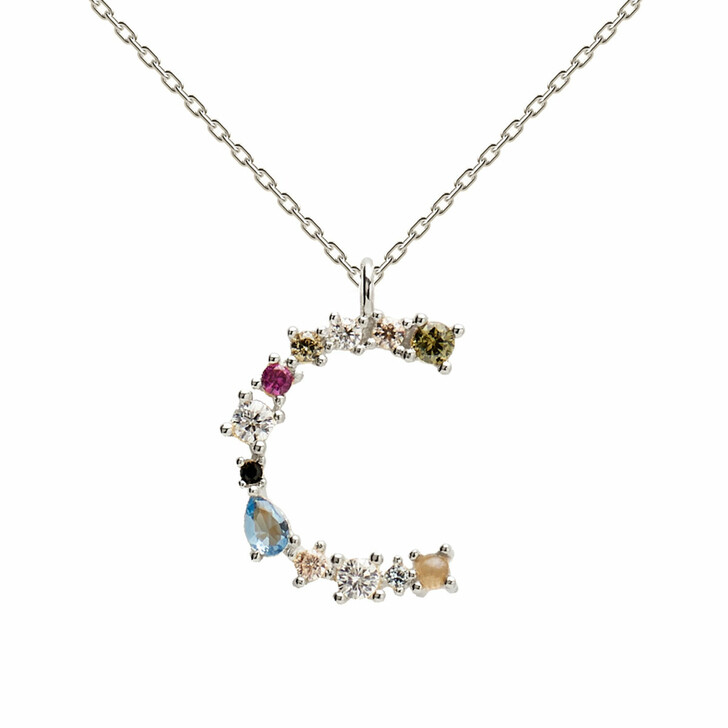Kette, PDPAOLA, C Necklace Silver