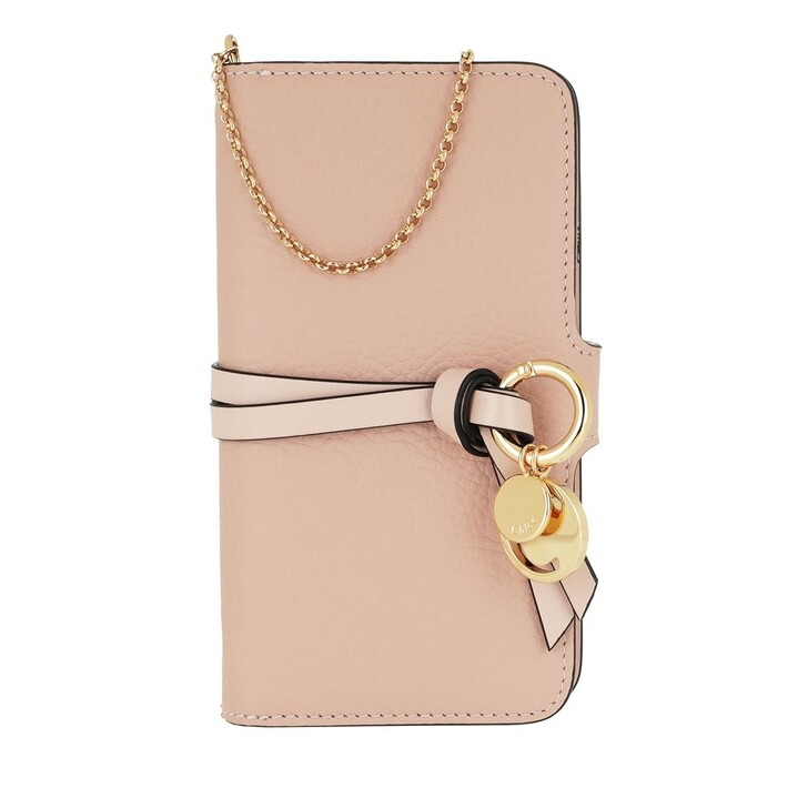 Smartphone/Tablet case (Case), Chloé, Smart Phone Holder Blush Nude