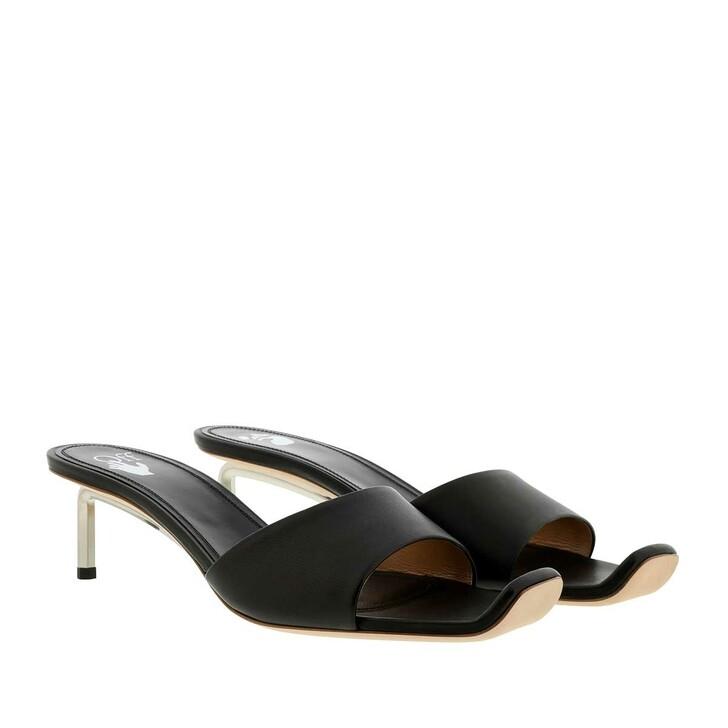 shoes, Off-White, Nappa Open Toe Allen Mule Black