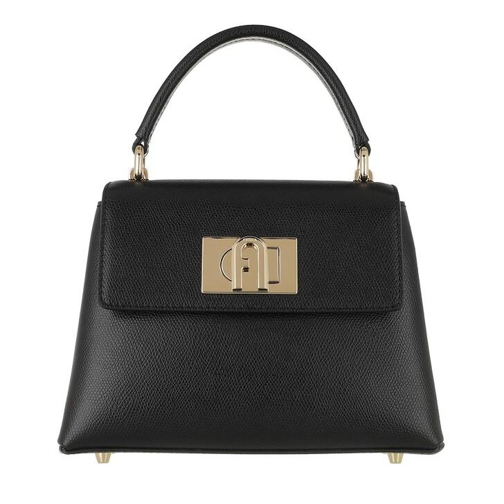 Handtasche, Furla, 1927 Mini Top Handle Nero