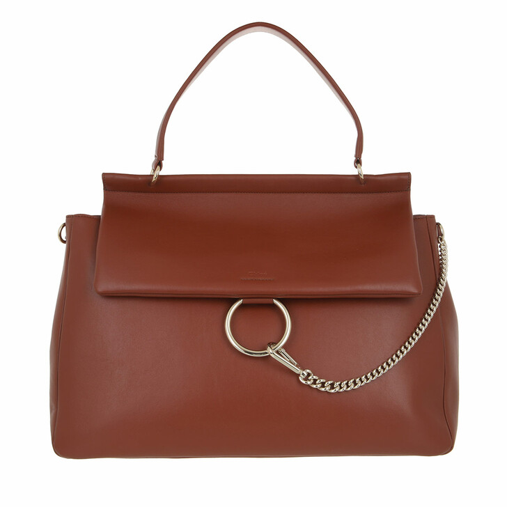 bags, Chloé, Large Faye Soft Day Bag Sepia Brown