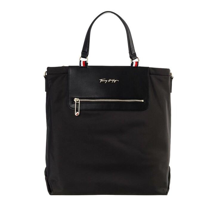 Handtasche, Tommy Hilfiger, Tommy Fresh Tote Black