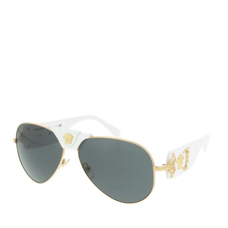 sunglasses, Versace, Men Sunglasses Rock Icons 0VE2150Q Gold