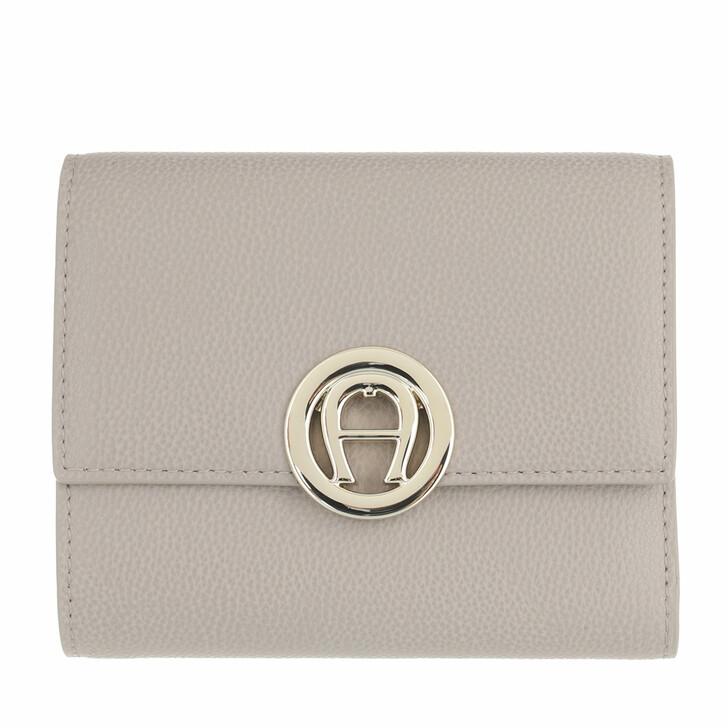 wallets, AIGNER, Livia Wallet Clay Grey
