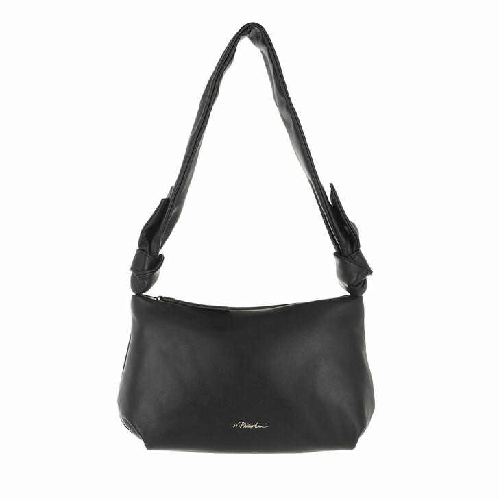 bags, 3.1 Phillip Lim, Croissant Bag Black