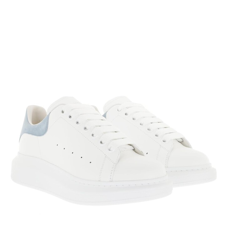 shoes, Alexander McQueen, Sneakers Leather White/Dream Blue