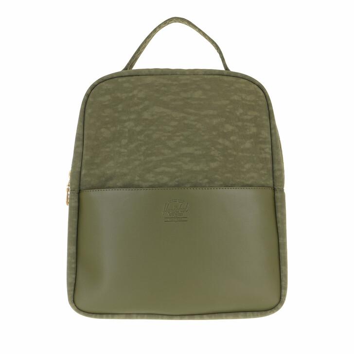 bags, Herschel, Orion Small Backpacks Ivy Green Black