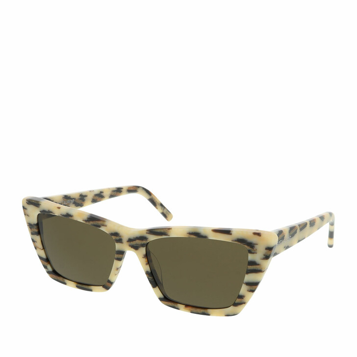 Sonnenbrille, Saint Laurent, SL 276 MICA-016 53 Sunglass WOMAN ACETAT Ivory