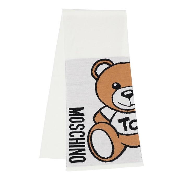 scarves, Moschino, Scarf White