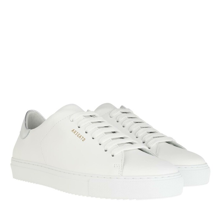 Schuh, Axel Arigato, Clean 90 Sneakers White Silver