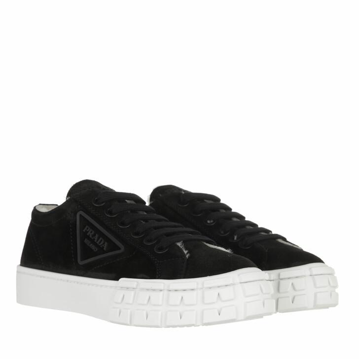 shoes, Prada, Low Sneakers Black/Natural