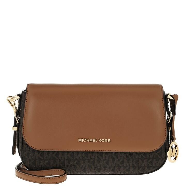Handtasche, MICHAEL Michael Kors, Large Flap Xbody Handbag   Brown/Acorn