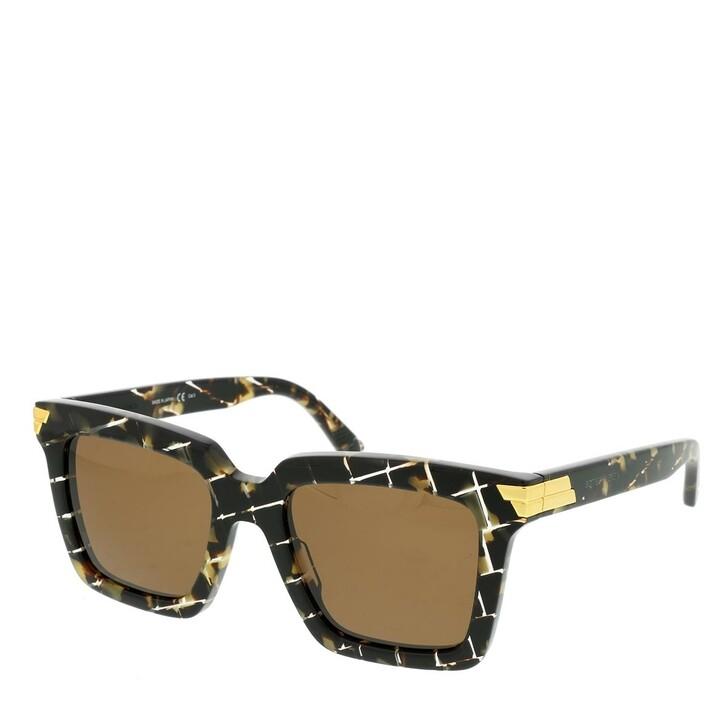 Sonnenbrille, Bottega Veneta, BV1005S Sunglasses Havana-Havana-Brown