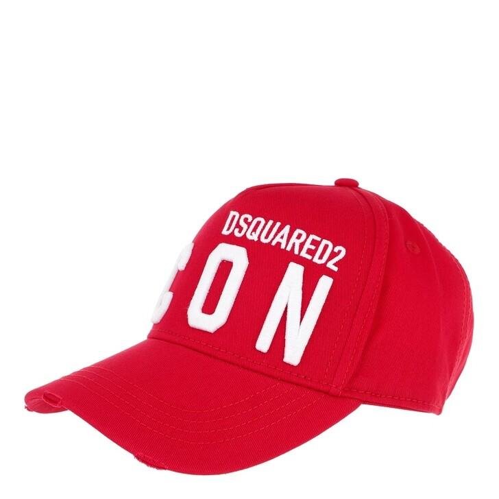 Mütze, Dsquared2, Icon Baseball Cap Red/White