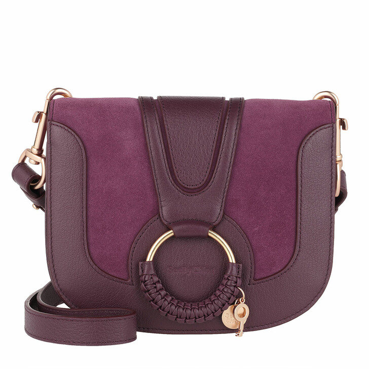Handtasche, See By Chloé, Hana Crossbody Suede Smooth Intense Violine